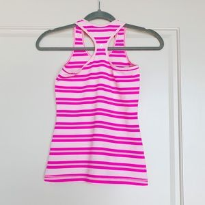 Ivivva Shirts & Tops - Ivivva Pink Striped Tank